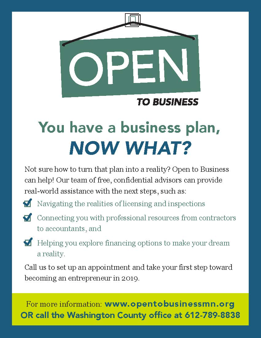 2019 Open To Business Flyer (IMAGE)